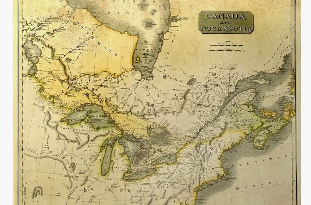 The fur brigades start their voyages to Grand Portage
