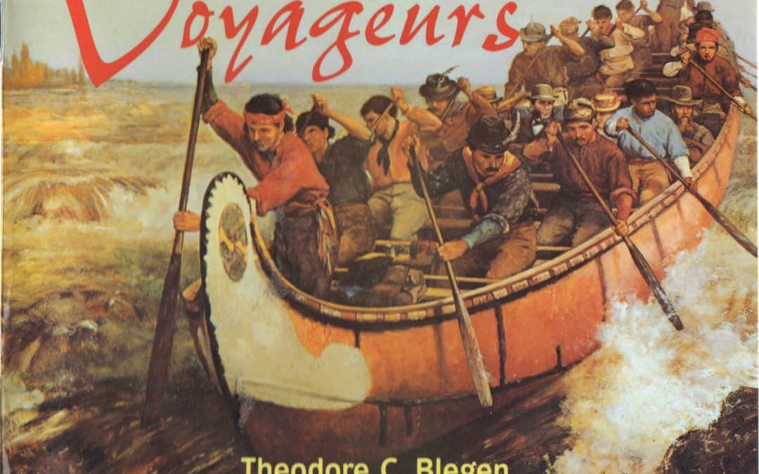 Voyageurs sang while they paddled? Why was that?