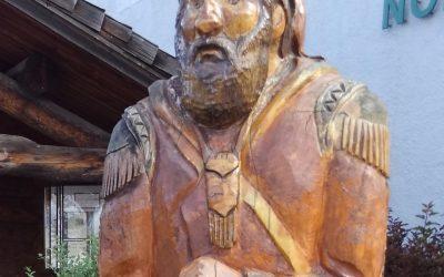 #3 voyageur statue: Ely
