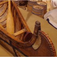 Birch bark canoe-builder in the 1920s—Hafeman Boat Works