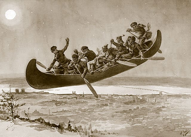 For a wild ride, try a Flying Canoe