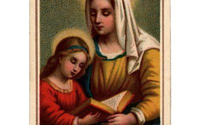 Is it true that Ste. Anne is 'patroness of voyageurs'?