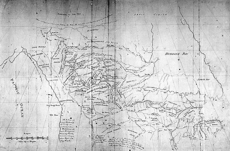 Peter Pond: voyageur, explorer, map-maker — and murderer