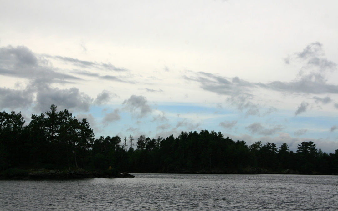 Visiting the voyageurs' highway — Crane Lake