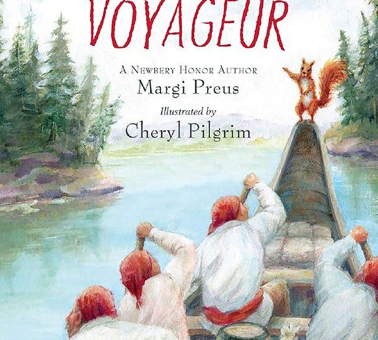 """The Littlest Voyageur"" — much smaller than Andre"