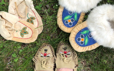 Moccasins: A story on your feet
