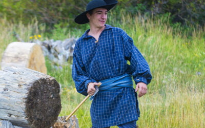 Be a voyageur at summer rendezvous events